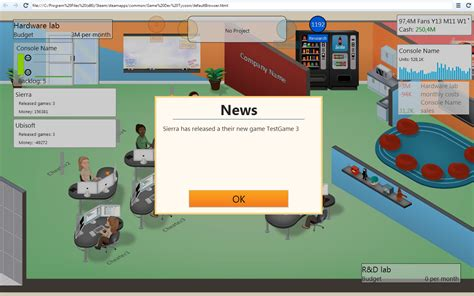 game dev tycoon mod unlimited money wip competitormod by kristof1104 dzjengiskhan