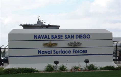 San Diego Bank Mba by San Diego Navel Base Entrance To Navy Base San Diego