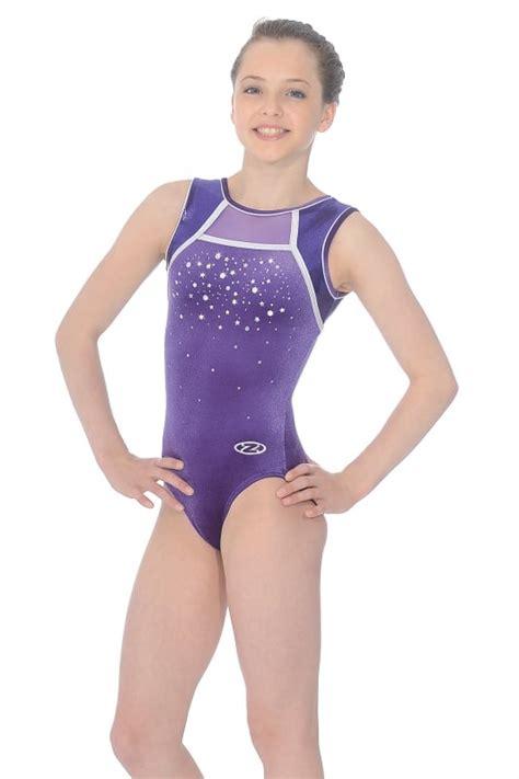 preteen models zone destiny sleeveless gymnastics leotard the zone