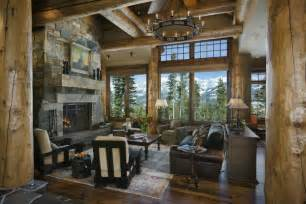 Rustic Home Interior by Cowboy Heaven A Warm Rustic Retreat Decoholic