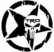 Trd Decal Sticker  New Used &amp Vintage Automotive Parts