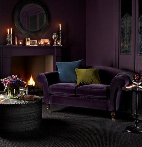 deep purple couch 30 trendy velvet furniture and home d 233 cor ideas digsdigs