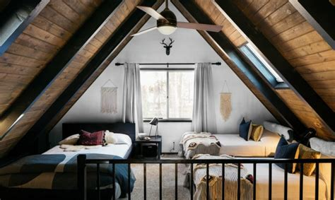 frame cabin transformed  light filled modern