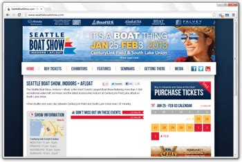 seattle web development projects seattle web group - Seattle Boat Show Tickets At The Door