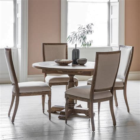 mustique solid mindi wood  extension dining table
