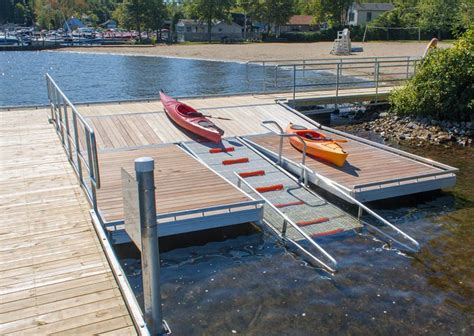 tiger boat docks kayak launch docks dock launch systems by the dock