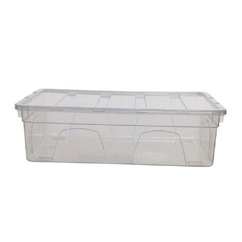 Storage Box 26 5x16x23 5cm Plastic buy 9lt spacemaster mini plastic storage box for shoes