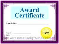 search results for certificate of excellence science fair