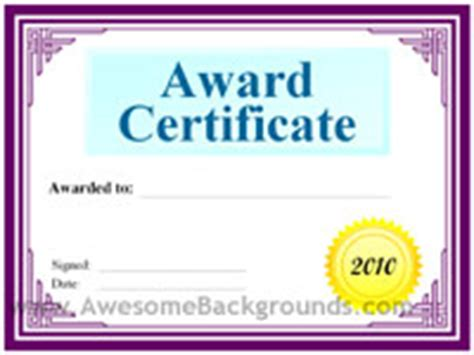 certificate of awesomeness template search results for certificate of excellence science fair