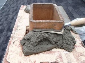 Chimney Mortar Crown Repair - chimney masonry fireplace masonry s chimney