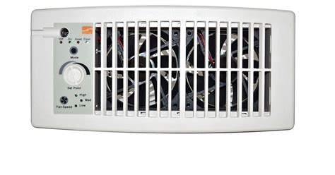 ac vent fan booster flush mount air conditioner ac heat register vent energy