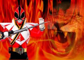 power rangers samurai red ranger wallpaper