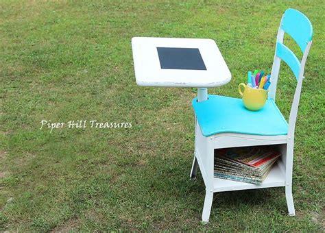 Refinishing School Desk by Refinished Child S School Desk Repurposed