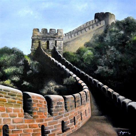 tembok besar china painting   bahrul ulum fajri