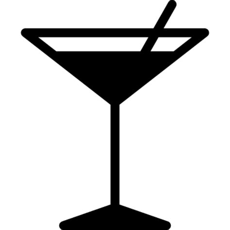 cocktail silhouette png glass with straw free vectors logos icons and