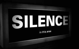 silence god is the friend of silence