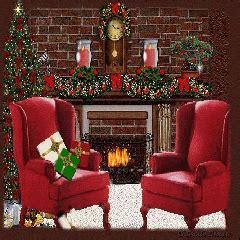 animated xmas screensavers  myxer musicwolf christmas fireplace screensaver