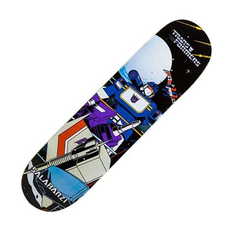 x skateboard deck primitive skateboarding x transformers soundwave salabanzi