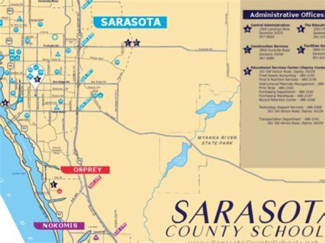 Sarasota County Schools Calendar Sarasota County School District Map Take A Look