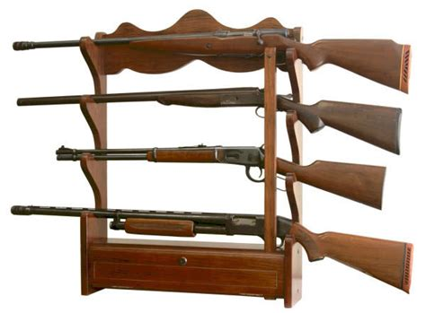 Gun Rack Wall Mount by Gun Rack Wall Mount 4 Guns Storage Racks Display Rifles
