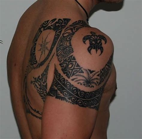 tropical tattoos for men tribal noho
