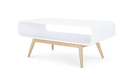 Esme Compact Coffee Table White And Ash Made Com Coffee Table White