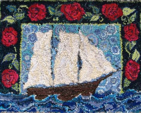 deanne fitzpatrick rug hooking pin by rodney leeseberg on artwork i