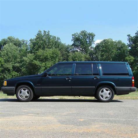 1991 volvo station wagon sell used 1991 volvo 740 turbo station wagon no reserve