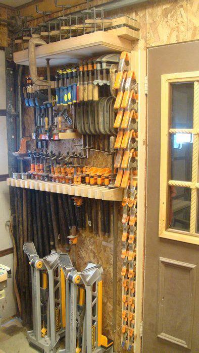 great clamp storage ideas shop shelving shop storage
