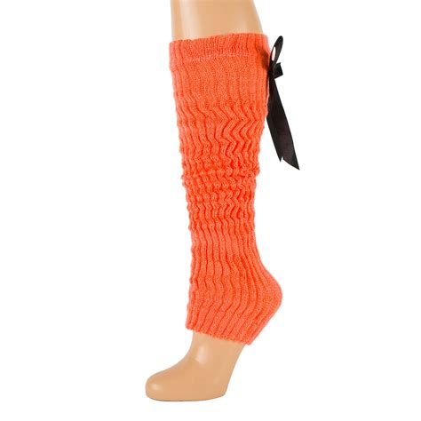 knitting pattern for leg warmers uk crochet knitted leg warmers with bow tie