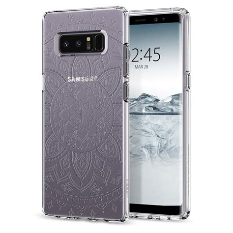 Spigen Liquid Series Samsung Note 8 Original Clear spigen galaxy note 8 liquid shine spigen inc