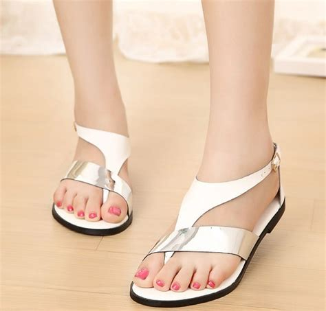Readty Wedges Size 35 40 size 35 40 2014 summer fashion slippers sandals flops flat shoes white open toe