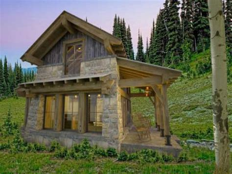 Log Cabin Style House Plans by Small Mountain House Plans Numberedtype