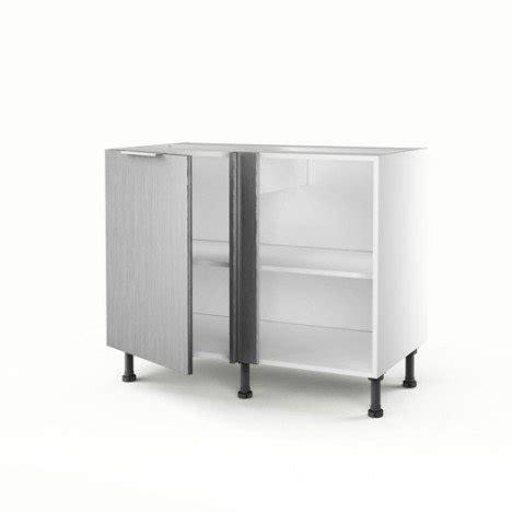 meuble d angle bas cuisine meuble de cuisine bas d angle d 233 cor aluminium 1 porte stil
