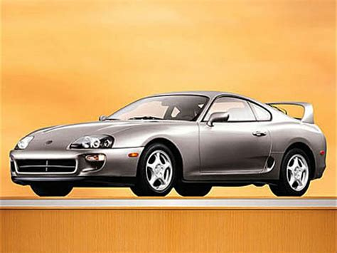 Toyota Supra Mpg 1998 Toyota Supra Specs Safety Rating Mpg Carsdirect