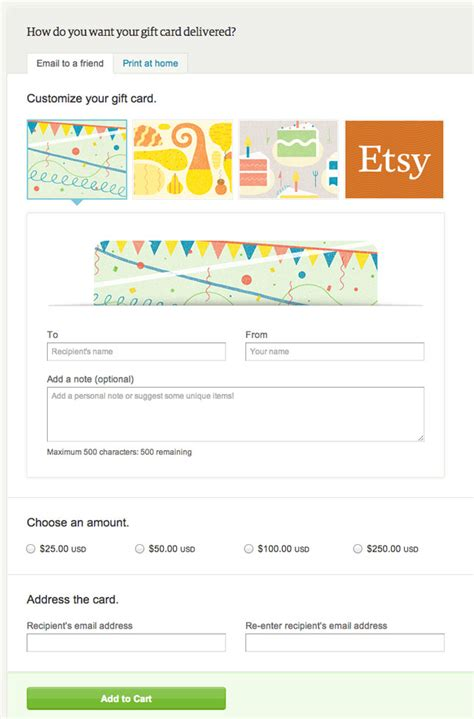 Etsy Gift Card Free - introducing etsy gift cards free giveaway brit co