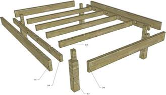 Make A Bed Frame From Wood Wood Strength Of Rabbet Joint For Bed Frame Home