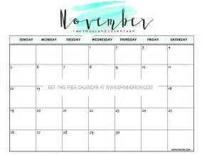 free november calendar template free printable november 2017 calendar 12 beautiful designs