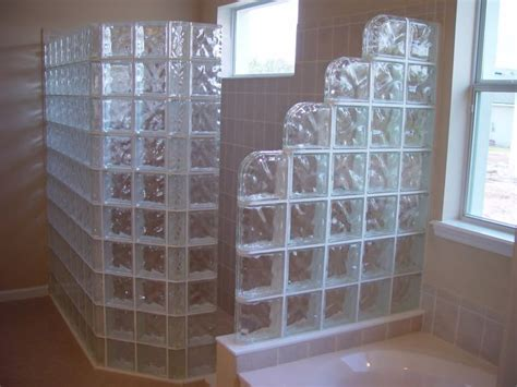 glass block tiles bathroom master bathroom shower always wanted one with glass