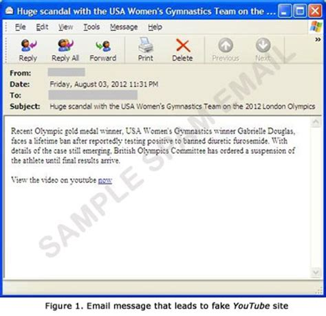 fake 2012 olympics scandal email leads to trojan