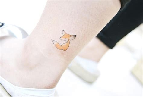 small fox tattoo 21 small fox ideas for styleoholic