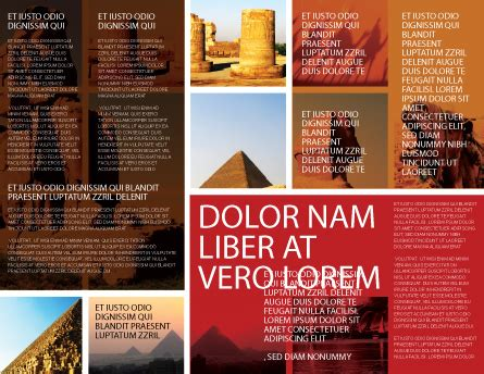 Traveling Brochure Templates by Traveling Brochure Template Design And Layout