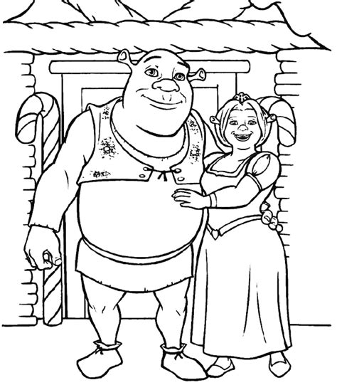 Free Printable Shrek Coloring Pages For Kids Shrek Coloring Pages