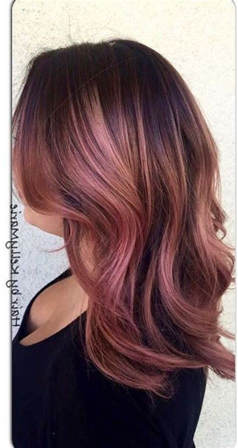1000 ideas about hair dye brands on pinterest best hair dirty brunette hair color 1000 ideas about rose gold hair