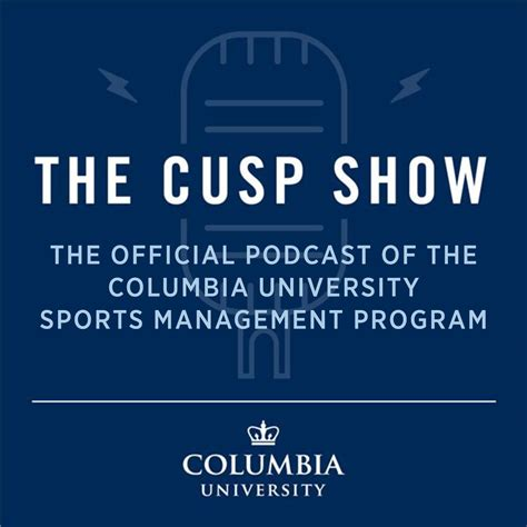 Columbia Sport Management Mba sports management faculty launch new podcast columbia