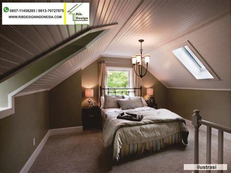 kontraktor rumah menyulap loteng rumah menjadi kamar tidur maukah  rib design