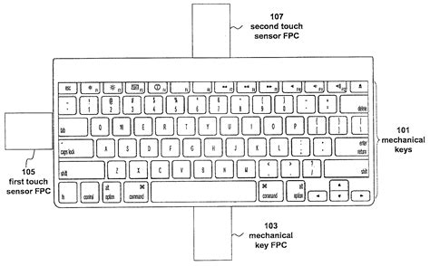 Drawing Keyboard by Apple Patents Hybrid Fusion Keyboard With Gestures