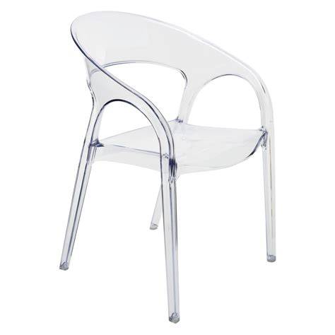 clear plastic dining chairs nuevo vapour clear stackable dining chair dining chairs