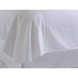 White Blanket Cover Peacock Alley Bis Bcq Wht Biscayne Blanket Cover In