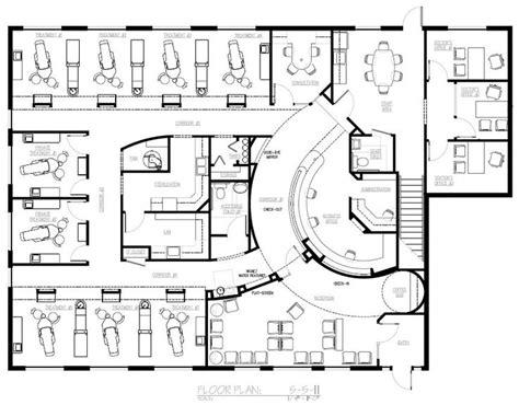 Dental Clinic Floor Plan Design | dental office design floor plans nine chair dental office interiors here there and